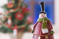 クリスマスイメージ スノーマン 11002049543| 写真素材・ストックフォト・画像・イラスト素材|アマナイメージズ