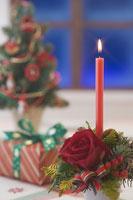 クリスマスイメージ キャンドル 11002049549| 写真素材・ストックフォト・画像・イラスト素材|アマナイメージズ