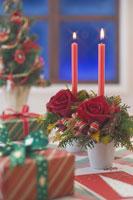 クリスマスイメージ キャンドル 11002049550| 写真素材・ストックフォト・画像・イラスト素材|アマナイメージズ