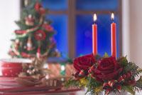 クリスマスイメージ キャンドル 11002049558| 写真素材・ストックフォト・画像・イラスト素材|アマナイメージズ