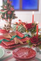 クリスマスイメージ 食器 11002049559| 写真素材・ストックフォト・画像・イラスト素材|アマナイメージズ