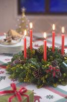 クリスマスイメージ キャンドル 11002049567| 写真素材・ストックフォト・画像・イラスト素材|アマナイメージズ