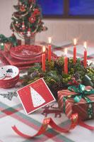 クリスマスイメージ キャンドル