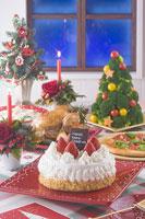クリスマスイメージ ディナー 11002049569| 写真素材・ストックフォト・画像・イラスト素材|アマナイメージズ