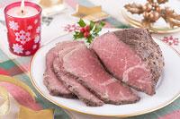 クリスマスイメージ ローストビーフ
