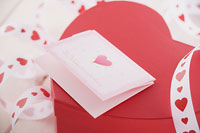 バレンタインイメージ カード