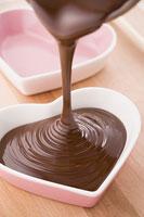 バレンタインイメージ チョコレート作り