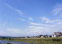 巻層雲と青空