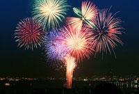 大津市の花火
