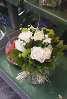 パリの花屋の店先