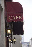 パリのカフェのテント 11002053398| 写真素材・ストックフォト・画像・イラスト素材|アマナイメージズ