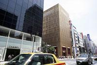 銀座 中央通り 銀座通り 11002053423| 写真素材・ストックフォト・画像・イラスト素材|アマナイメージズ