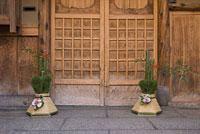 祇園の門松