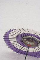 雪原と傘 11002053588| 写真素材・ストックフォト・画像・イラスト素材|アマナイメージズ