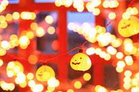 ハロウィンとイルミネーション 11002054377| 写真素材・ストックフォト・画像・イラスト素材|アマナイメージズ