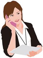 携帯電話で話す女性 11002055183| 写真素材・ストックフォト・画像・イラスト素材|アマナイメージズ