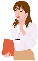携帯電話で話す女性 11002055185| 写真素材・ストックフォト・画像・イラスト素材|アマナイメージズ