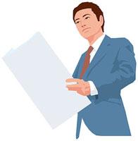 新聞を読む男性 11002055225| 写真素材・ストックフォト・画像・イラスト素材|アマナイメージズ
