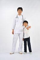 医師と男の子