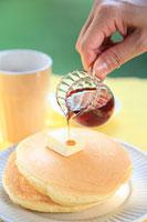 ホットケーキ 11002055834| 写真素材・ストックフォト・画像・イラスト素材|アマナイメージズ