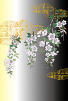 桜花屏風絵図 11002056284| 写真素材・ストックフォト・画像・イラスト素材|アマナイメージズ