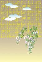 桜花屏風絵図