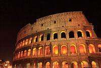 ローマ コロッセオ 夜景