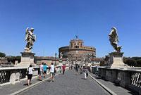 ローマ サンタンジェロ城 11002056503| 写真素材・ストックフォト・画像・イラスト素材|アマナイメージズ