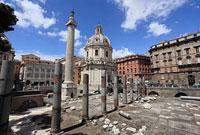 ローマ トラヤヌス記念柱