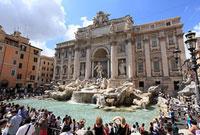 ローマ トレヴィの泉