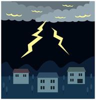 落雷による停電