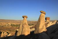 カッパドキアの三姉妹の岩