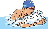 競泳競技 平泳ぎ