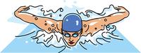 競泳競技 バタフライ