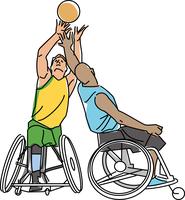 障害者スポーツ 車椅子バスケットボール