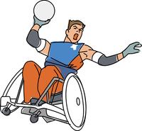障害者スポーツ ウィルチェアーラグビー