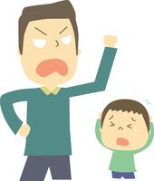 親から子供への家庭内暴力