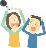 妻から夫への家庭内暴力