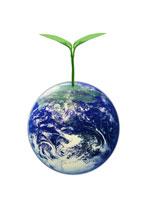 地球と双葉 CG