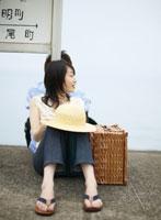 ホームの日本人カップル