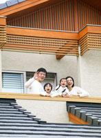 家と日本人の家族