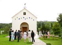 教会のウェディング