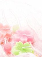 桜の形のろうそく