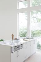 キッチンの風景 11004101162| 写真素材・ストックフォト・画像・イラスト素材|アマナイメージズ