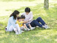 日本人の家族
