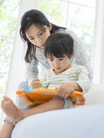 日本人の母と息子