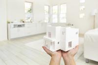 住宅の模型 11004119870| 写真素材・ストックフォト・画像・イラスト素材|アマナイメージズ
