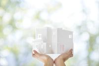 住宅の模型 11004119884| 写真素材・ストックフォト・画像・イラスト素材|アマナイメージズ