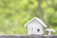家の模型 11004121145| 写真素材・ストックフォト・画像・イラスト素材|アマナイメージズ