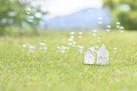 家の模型 11004121151| 写真素材・ストックフォト・画像・イラスト素材|アマナイメージズ
